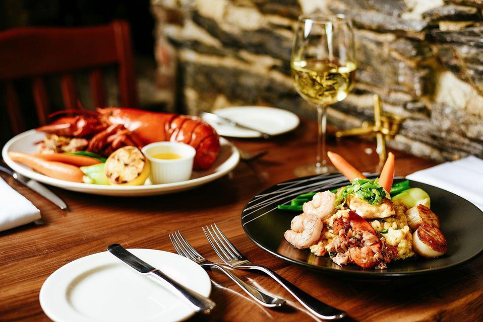 龍蝦與干貝饗宴